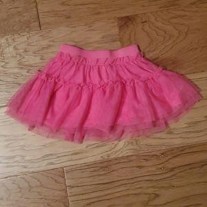 3/$15 Pink ruffle skirt tutu